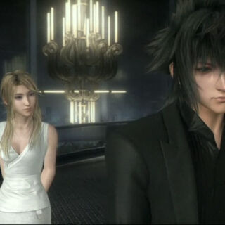 Stella with Noctis.