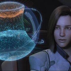 Aki analyzing the two Gaias.