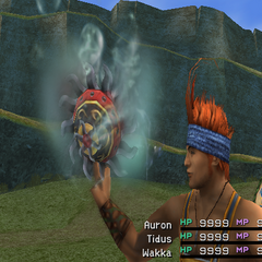 Water version in <i>Final Fantasy X</i>.