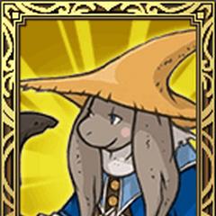 Nu Mou Black Mage portrait in <i>Final Fantasy Tactics S</i>.