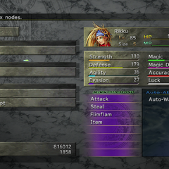 <i>Final Fantasy X-2</i> (PS3).