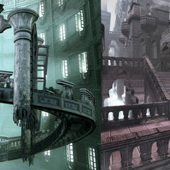 Concept CG artwork of Oblivion and Lost Memory.