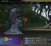 Seymour's weapon - hide