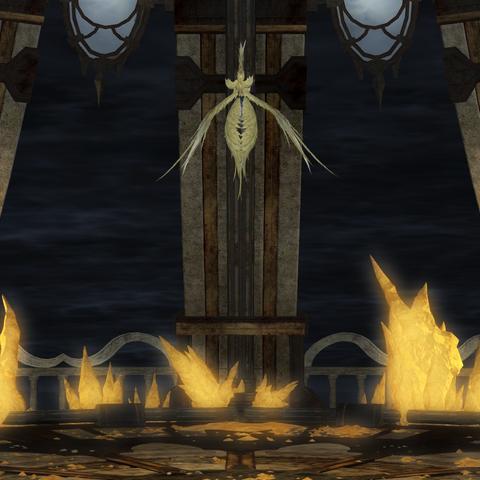 Siren appears on the top floor of Pharos Sirius.