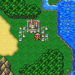Baron on the World Map (GBA).
