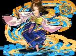PAD Yuna battle