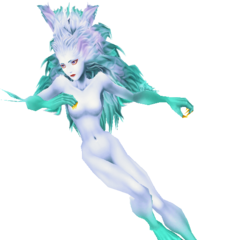 Terra's Trance form in her third outfit in <i>Dissidia 012</i>.