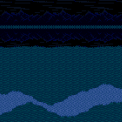 Battle Background in the night (SNES).