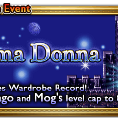 Global event banner for Prima Donna.