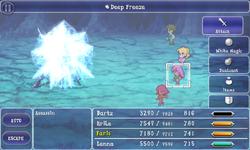 FFV iOS Deep Freeze