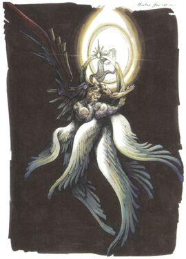 Thiên thần có bảy chiếc cánh.