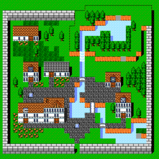 The town of Canaan (NES).