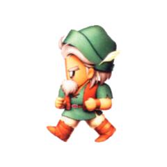 Galuf as a Ranger.