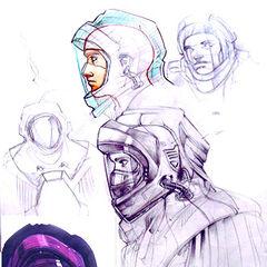 Helmet concept.