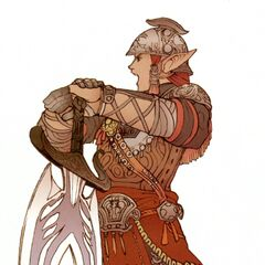 Promotional artwork of Rughadjeen by Yuzuki Ikeda.
