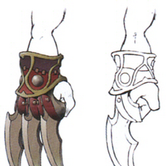 Concept artwork for the Cat's Claws.