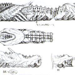 Concept sketch by Tetsuya Nomura.