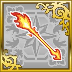 Flamescepter in <i>Final Fantasy Airborne Brigade</i> (SR).