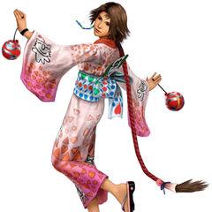 Yuna as a Festivalist.