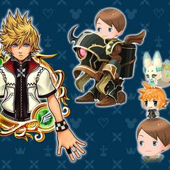 Kingdom Hearts χ[chi] collaboration.