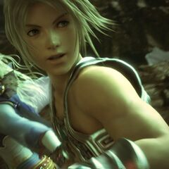 CG Render of Vaan and Terra in <i>Dissidia 012</i>.