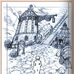 Bohden Arch concept sketches.