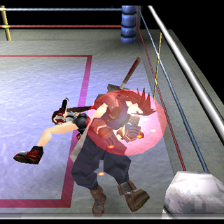 Tifa's Water Kick ability.