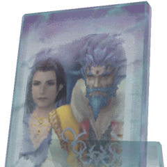 Render of a picture of Jyscal and Seymour's mother.