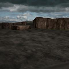 <i>Final Fantasy VII</i> Battle background.
