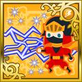 FFAB Lightning Scroll - Ninja (M) SR