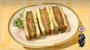 Grease Monkey's Schnitzel Sandwich