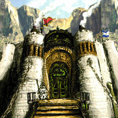 Concept art of Steiner at the Bohden Gate.