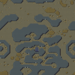 Map of the Red Moon (SNES/PSX/GBA).