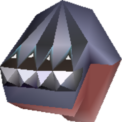 In-game model of Diamond Knuckle in <i><a href=