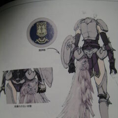 Artwork of Etro's Champion armor.