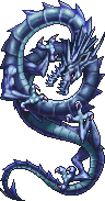 FF4PSP Thunder Dragon