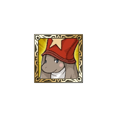 Nu mou Time Mage icon in <i>Final Fantasy Tactics S</i>.
