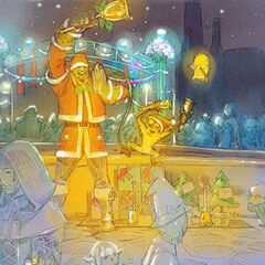 2008 Starlight Celebration artwork for <i>Final Fantasy XI</i>.