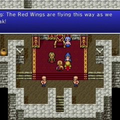 Yang warning others about the approaching Red Wings