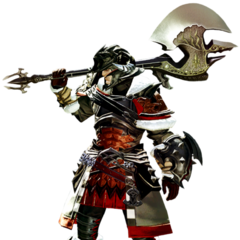 Warrior in <i>Final Fantasy XIV: A Realm Reborn</i>.