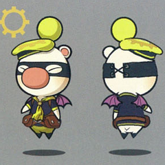 Artwork of the moogle of Class Eighth.