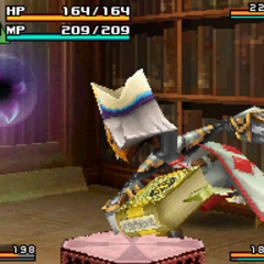 Attack with a Staff normally for a Yuke.