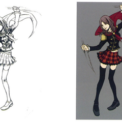 Concept art of Rem.