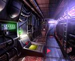 Submarine interior