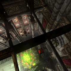 The church rooftop in <i>Final Fantasy VII</i>.