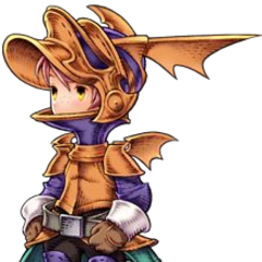 Arc as Dragoon.