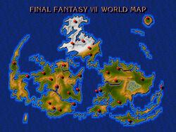 FFVII World Map
