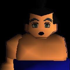 Sumo Wrestler.