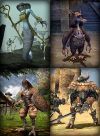 FFXI Beastmen Example