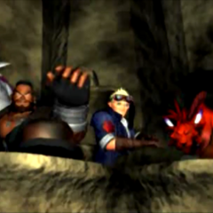 Barret in an ending scene.